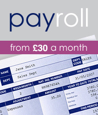 Payroll from £20 a month